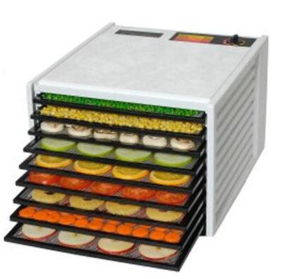 エクスカリバー社ディハイドレーター(9段トレイ)タイマー無し【食物乾燥機】(ホワイト)