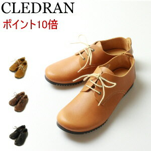 レディース靴, スニーカー  CLEDRAN OILED LEATHER SHOES SERIESOXFORD SHOE CL-2314 CLO-2314
