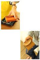 イルビゾンテ財布*ILBISONTEイルビゾンテ2つ折りZipポケットレザーウォレット【商品番号IB-5-00240】