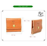 【イルビゾンテ財布】ILBISONTEイルビゾンテボックスコインケース【商品番号IB-1-00241】