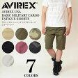 AVIREX (アビレックス アヴィレックス) AVIREX USA BASIC MILITARY CARGO FATIGUE SHORTS カーゴ ショーツ ショートパンツ ハーフパンツ 短パン 迷彩 メンズ 6166118 / 6166119