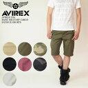 【セール30%OFF】AVIREX (アビレックス アヴィレックス) AVIREX USA BASIC MILITARY CARGO FATIGUE SHORTS カーゴ ショートパンツ 6166118 / 6166119