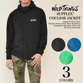 WILDTHINGS (ワイルドシングス) SUPPLEX COULIOR JACKET サープレックスナイロン コーロワール フードジャケット 2016SSモデル WT010119
