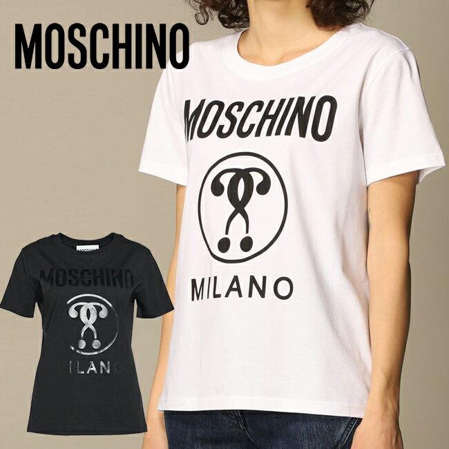 トップス, Tシャツ・カットソー MOSCHINO 0715 0540 T 2021 38 40 42 S XS M