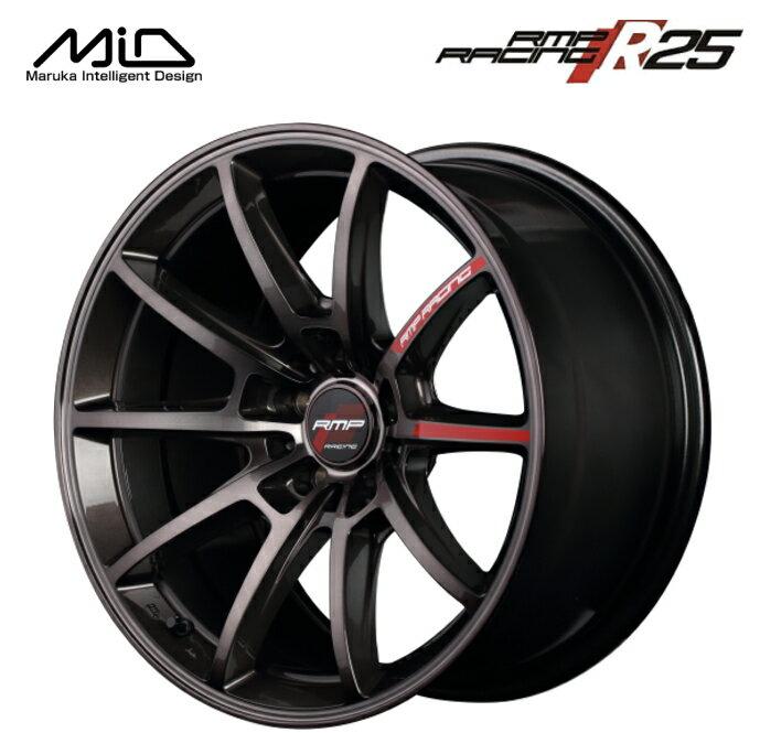 タイヤ・ホイール, ホイール  MID RMP RACING R25 18 9.5J 12 5 PCD114.3 1