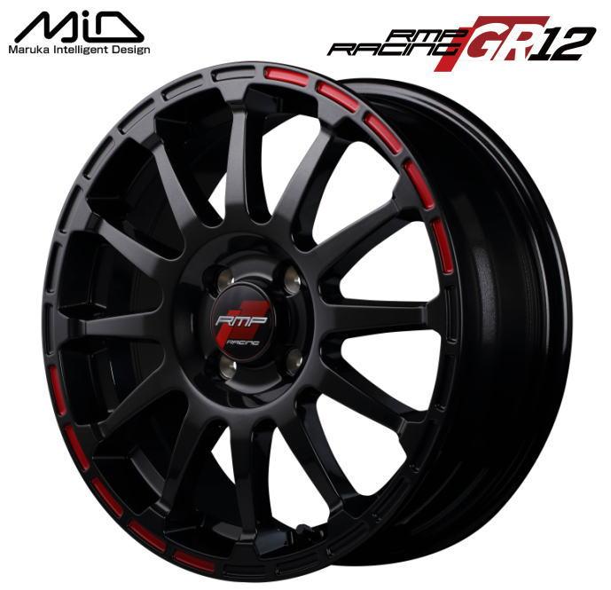 タイヤ・ホイール, ホイール  MID RMP RACING GR12 16 6J 43 4 PCD 100 1