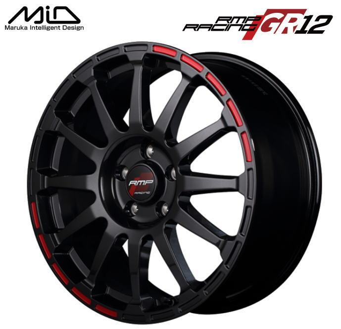 タイヤ・ホイール, ホイール  MID RMP RACING GR12 17 7J 48 5 PCD 114.3 1