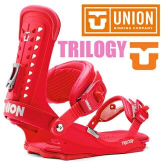 14-15NEW型號★銷售開始★UNION BINDING TRILOGY彩色RED 715005