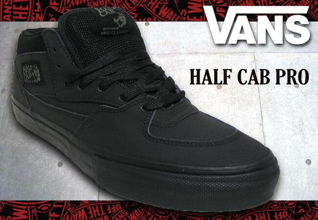 vans half cab pro blackout roller