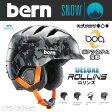 BERN ヘルメット ROLLINS DELUXE ロリンズ BLACK LINER BOA 【ウィンター仕様】BERN HELMET 2015-2016 【バーン ヘルメット】【スノーボード スケートボード】【日本正規品】【送料無料】【あす楽】715005