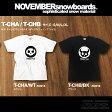 17-18 NOVEMBER Tシャツ T-CHA/T-CHB 【ノベンバー スノーボード】【日本正規品】