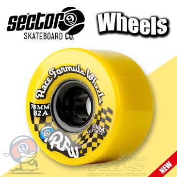 セクター9 SECTOR9 ウィール RACE サイズ 70mm YELLOW/ORANGE/BLUE 【スケートボード ソフトウィール】【ロングボード クルーザー】【日本正規品】