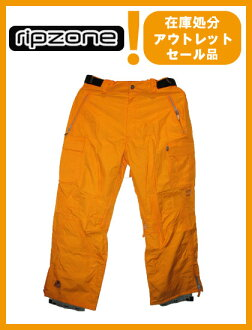 RIPZONE TRILOGY PANTS彩色YELLOW