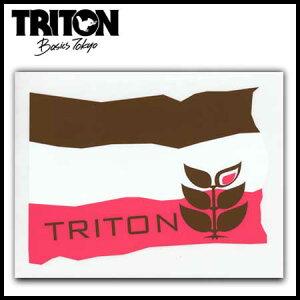 TRITON ステッカー  BROWN L 【スノーボード ステッカー】715005