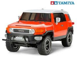 84401タミヤトヨタFJクルーザーCC-01オレンジ