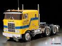 !【TAMIYA/タミヤ】 56304 1/14 電動RC ビッグトラック トレーラーヘッド グローブライナー 組立キット+チャンプオリジナル:フルボールベアリング(未組立) ≪ラジコン≫・・・