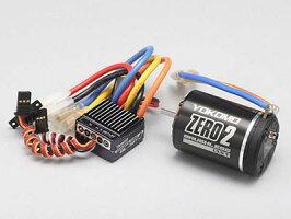 BL-S485B【YOKOMO/ヨコモ】BL-SP4ブラシレススピードコントローラー+ZERO2ブラシレスモーター8.5T付ブラシレスコンボ