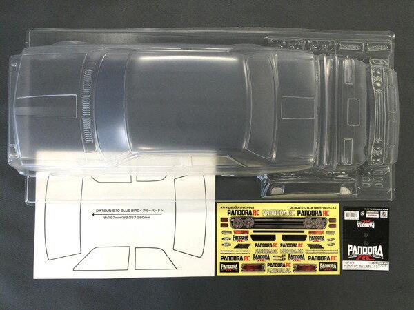 パーツ・アクセサリー, ボディ RC(Pandora RC)PAB-2175DATSUN 510 ()