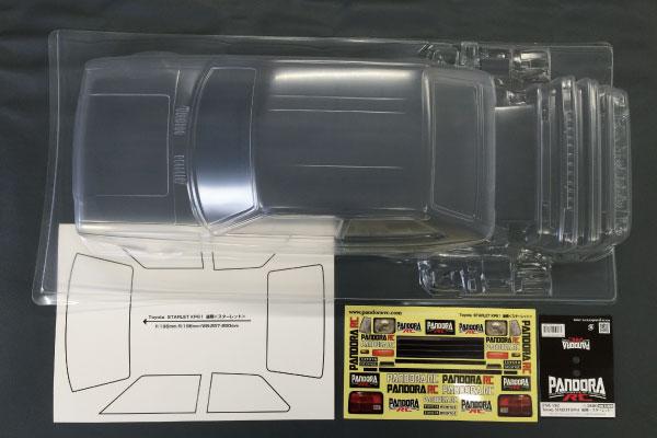 パーツ・アクセサリー, ボディ RC(Pandora RC)PAB-2182Toyota KP61 ()