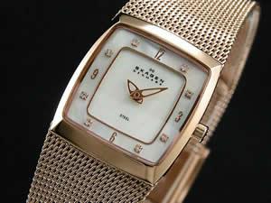 スカーゲン SKAGEN 腕時計 時計 メッシュ レディース 380XSRR1