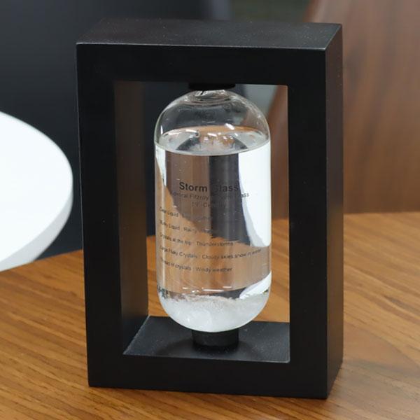 ストームグラス BAW11007 天気予報グラス 結晶 オブジェ 飾り 雑貨 おしゃれ ガラス【送料無料】