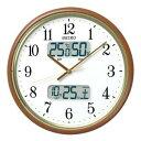 温度湿度カレンダー表示の多機能モデルです。KX352B 電波掛時計 温度湿度カレンダー表示(代引き不可)【10P10Dec12】