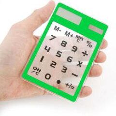 【エントリーでポイント14倍】サンコー 透明アクリル電卓 AKIBA80(代引き不可)【ポイント10倍】...