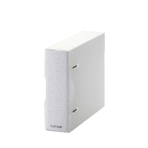 エレコム DVD・CD不織布ケース専用ファイル CCD-BC01CR DVD・CD不織布ケースと2穴リング式トレイをまとめてファイリング Blu-rayやメモリカードも収納整理(代引き不可)