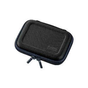 エレコム ポータブルHDDケース(セミハード) HDC-SH001BK【ポイント10倍】