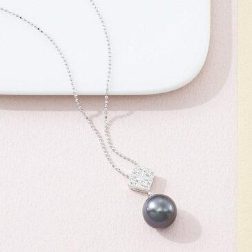 黒蝶真珠ペンダント 雑貨 ホビー インテリア 雑貨 雑貨品【送料無料】【S1】