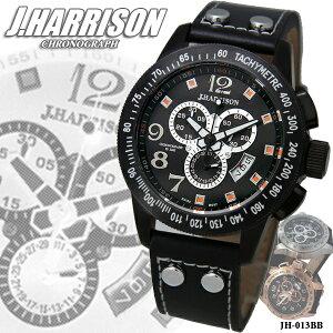 J.HARRISONジョンハリソンクロノグラフ腕時計JH013-BBジョンハリソン販売腕時計高級メンズ【ポイント10倍】【10P03dec10】【送料無料】【smtb-F】