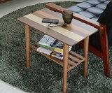 サイドテーブル 北欧 木製サイドテーブル 木製 テーブル リビングテーブル センターテーブル ローテーブル(代引不可)【ポイント10倍】【送料無料】