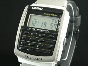 【ポイント10倍】ラッピング無料サービス!カシオ CASIO データバンク 腕時計 CA-56-1UW【22%O...