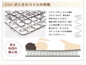 パネル脚付きコンパクト床下収納並べて使えるデザインベッド北欧調脚付きパネルデザインベッド【Torukka】トルッカダブルレギュラーボンネルコイルマットレス付き【ポイント10倍】【smtb-F】