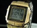 【ポイント10倍】ラッピング無料サービス!カシオ CASIO データバンク 腕時計 ゴールド DB360G-...