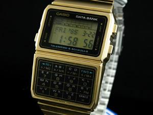 カシオ CASIO データバンク 腕時計 ゴールド DBC610GA-1 新品 本物 即決 即落