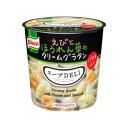 【まとめ買い】味の素 クノール スープDELI えびとほうれん草のクリ...