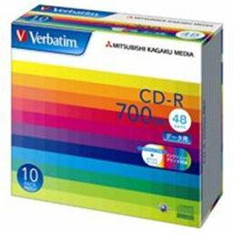 三菱化学メディア CD-R <700MB> SR80SP10V1 10枚