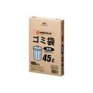 袋, ゴミ袋  LDD 45L 100 N044J-45 3