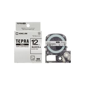 (業務用50セット)キングジムテプラPROテープ備品管理ラベルSM12XC×50セット【ポイント10倍】