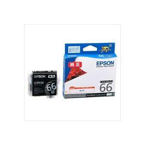 (業務用40セット)エプソンEPSONインクカートリッジICMB66マットブラック×40セット【ポイント10倍】