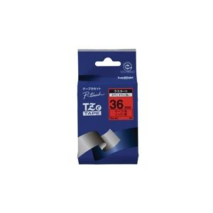 (業務用20セット)ブラザー工業文字テープTZe-461赤に黒文字36mm×20セット【ポイント10倍】