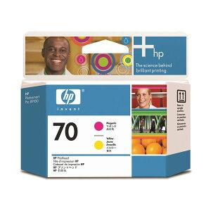 (まとめ)HP70プリントヘッドマゼンタ/イエローC9406A1個【×3セット】【ポイント10倍】