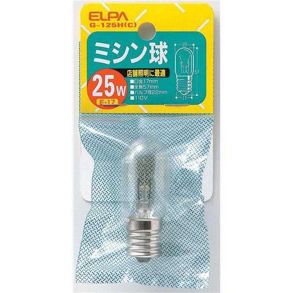 防災関連グッズ, 懐中電灯  ELPA 25W E17 G-125H 3010