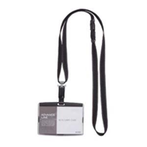 (業務用100セット)ソニック吊下げ名札ハードAL-842-Dブラック×100セット【ポイント10倍】
