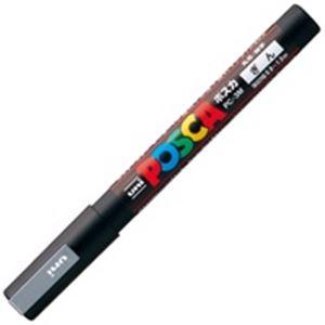 (業務用200セット)三菱鉛筆ポスカPC-3M.26細字銀×200セット【ポイント10倍】