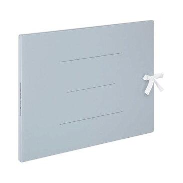 (まとめ) コクヨ ガバットファイルS(ストロングタイプ・紙製) A3ヨコ ひも付き 1000枚収容 背幅13〜113mm 青 フ-SH948B 1冊 【×5セット】