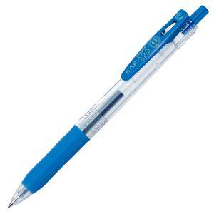 (まとめ) ゼブラ ゲルインクボールペン サラサクリップ 0.4mm コバルトブルー JJS15-COBL 1本 【×60セット】