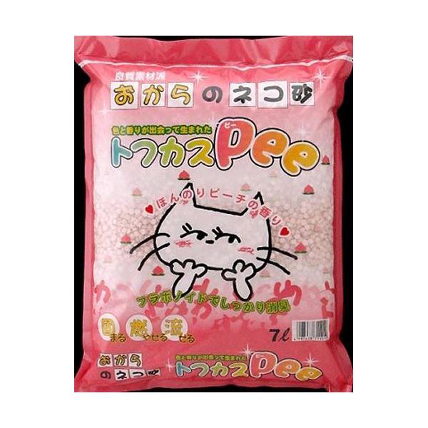 (まとめ)ペグテック トフカス Pee 7L 【ペット用品】【×4セット】【S1】