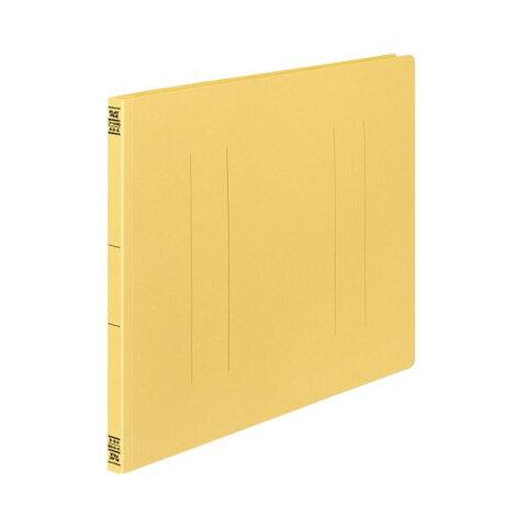(まとめ) コクヨ フラットファイルV(樹脂製とじ具) A3ヨコ 150枚収容 背幅18mm 黄 フ-V48Y 1パック(10冊) 【×3セット】